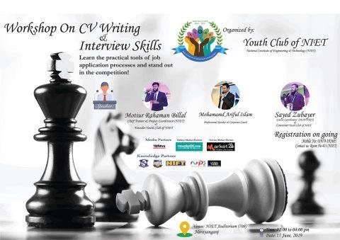 Workshop on CV Writing & Interview Skills 2019 in Narayanganj