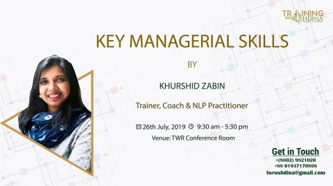 Key Managerial Skills 2019 in Dhaka