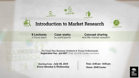 Introduction to Market Research 2019 in Dhaka