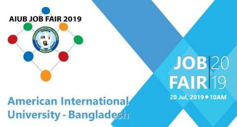 AIUB Job Fair 2019 in Dhaka