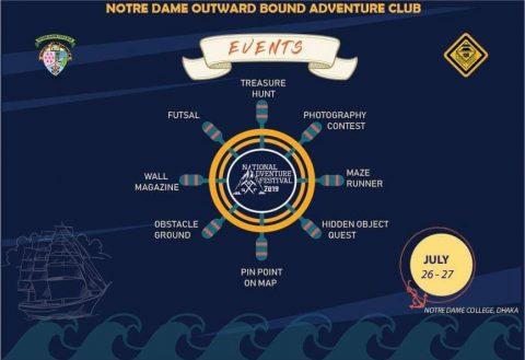 3rd National Adventure Festival 2019 in Dhaka