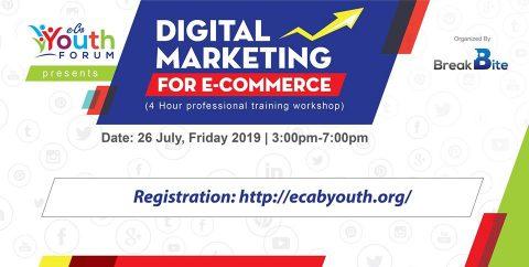 Digital Marketing For E-Commerce 2.0 – in Dhaka 2019