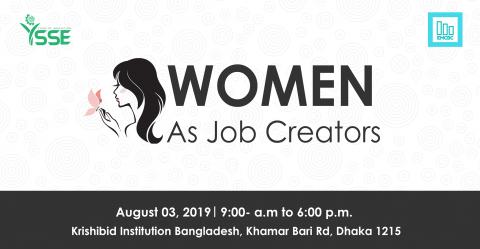 Women as Job Creators 2019 in Dhaka
