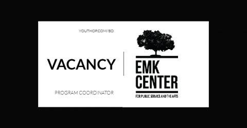 Opportunity to work as Program Coordinator at EMK Center 2019