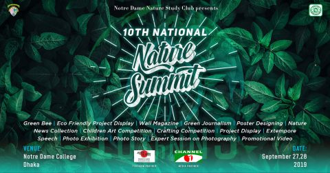 10th National Nature Summit 2019 in Dhaka