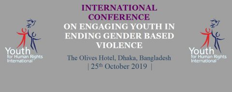International Conference on Engaging Youth in Ending Gender-Based Violence 2019 in Dhaka