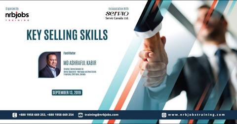 "One-day training on ""Key Selling Skills"""