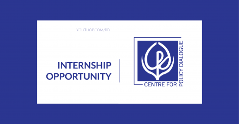 Research Internship Opportunity at Centre for Policy Dialogue (CPD) 2019