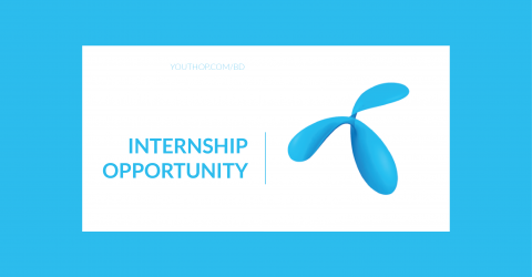 Grameenphone internship progam – in Dhaka 2019