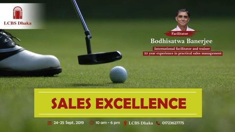 Sales Excellence Program | Achieving Top Sales Performance, 2019 in Dhaka