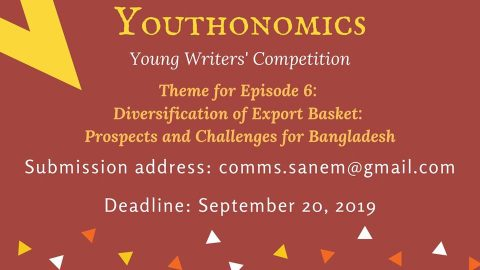 Youthonomics 6- Young Writer's Competition hosted by SANEM