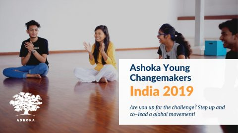 Volunteer opportunity to work with Ashoka India 2019