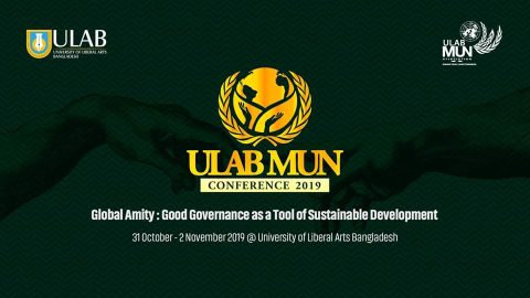 Change today, Shape tomorrow at ULAB MUN Conference 2019