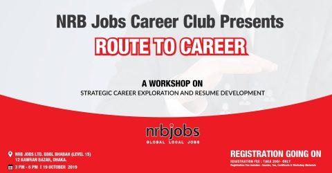 "NRB JOBS LTD. Hosts The Workshop ""Route to Career"" 2019, Dhaka"