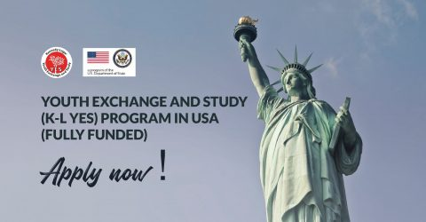 Kennedy-Lugar Youth Exchange and Study (K-L YES) Program 2020-21 in USA