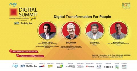Day-long Conference On 'Digital Summit 2019' Presented by Meghna Group of Industries
