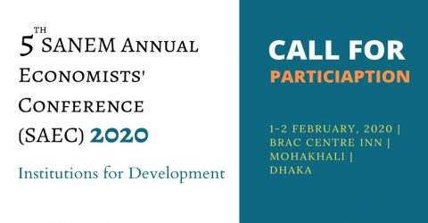 5th SANEM Annual Economists' Conference in Dhaka