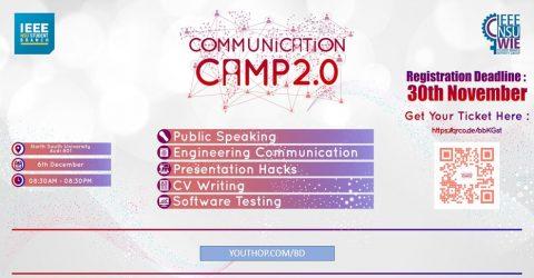 Communication Camp 2019 at North South University