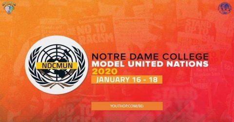 Notre Dame College Model United Nations 2020 in Dhaka