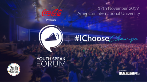 Coca-Cola Youth Speak Forum 2019 in Dhaka