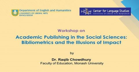 Academic Publishing in the Social Sciences 2019 in Dhaka