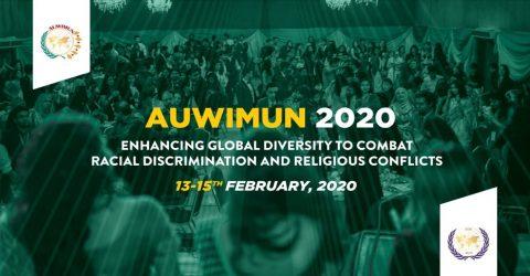 Asian University for Women International Model United Nations 2020 in Chittagong