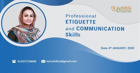 Professional Etiquette and Communication Skills Training Program 2020 in Dhaka
