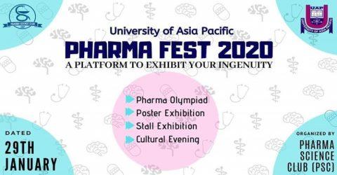 University of Asia Pacific presents Pharma Fest 2020 in Dhaka