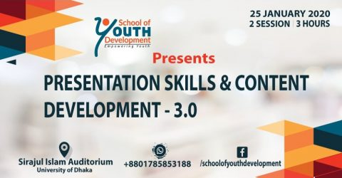 Workshop on Presentation Skills & Content Development 2020 in Dhaka