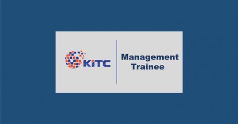 KITC Management Trainee Program 2020 in Bangladesh