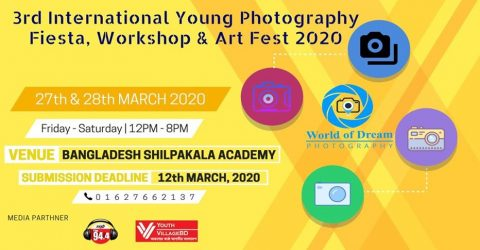 International Young Photography Fiesta, Workshop & Art Fest in Dhaka 2020