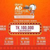Daraz Ad Creator Hunt 2020 in Bangladesh