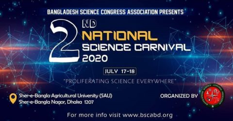 2nd National Science Carnival in Dhaka 2020