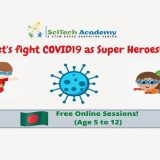Free Online Session for Kids : Let's fight Covid19 as Super Heroes 2020