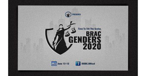 BRAC University Debate Club presents BRAC Genders 2020