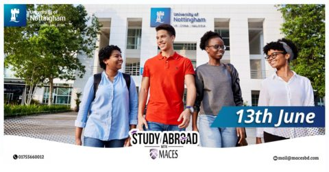 Webinar on University of Nottingham Malaysia hosted by Study abroad with MACES 2020