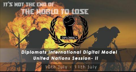 Diplomats International Digital Model United Nations Session 2020