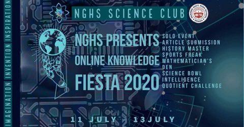 NGHS Presents Online Knowledge Fiesta  2020