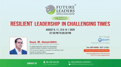 FutureLeaders presents Resilient Leadership in Challenging Times 2020