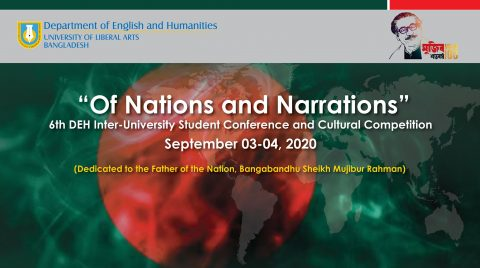 Of Nation and Narration: 6th DEH Inter-University Student Conference and Cultural Competition 2020