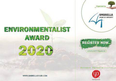 Umbrella presents Environmentalist Award – 2020