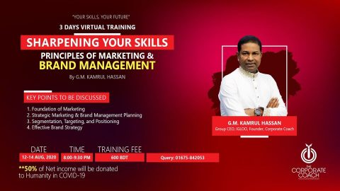 Online Workshop on Principles of Marketing & Brand Management 2020