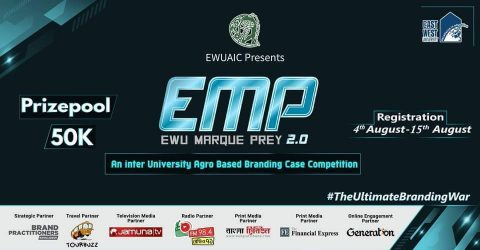 East West University Agro Industrialization Club presents EWU MarquePrey 2.0