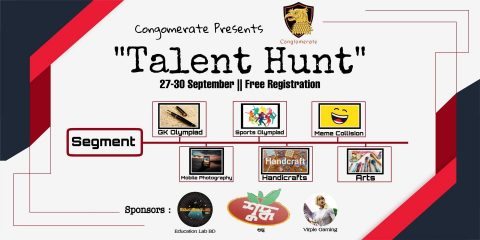 "Conglomerate Presents-""Talent Hunt"" 2020"