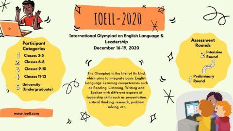 International Olympiad on English Language & Leadership 2020