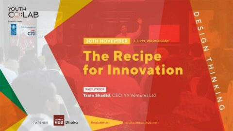 Workshop on Design Thinking: The Recipe for Innovation 2020