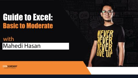 Don Sumdany presents Guide to Excel: Basic to Moderate 2021