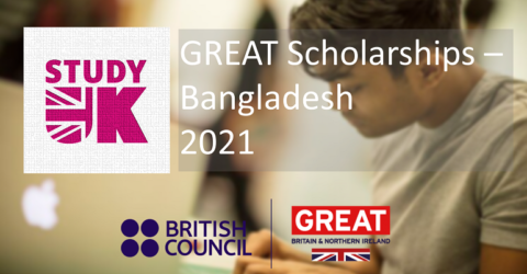 GREAT Scholarships 2021 in the UK