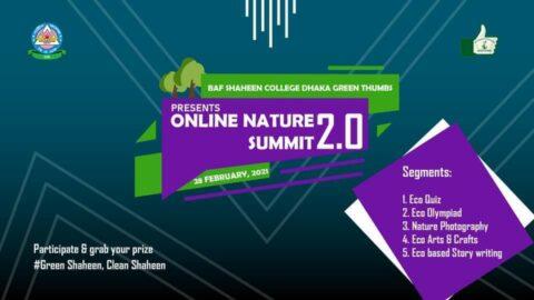 BAFSDGT presents Online Nature Summit 2021 in Dhaka