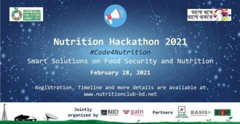 Nutrition Hackathon 2021 in Bangladesh